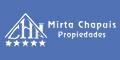 Telefono clientes Mirta Chapuis Propiedades – Alq – Ventas – Mar Del Tuyu